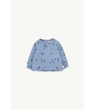 Tiny Cottons Sky baby shirt milky sky/deep blue
