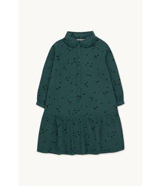 Tiny Cottons Sky frills dress Stromy blue/ink