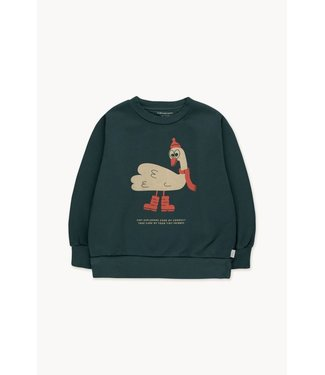 Tiny Cottons Swan explorer sweatshirt