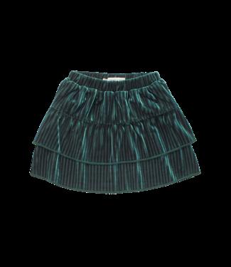 Sproet & Sprout Skirt Velvet Pine Green