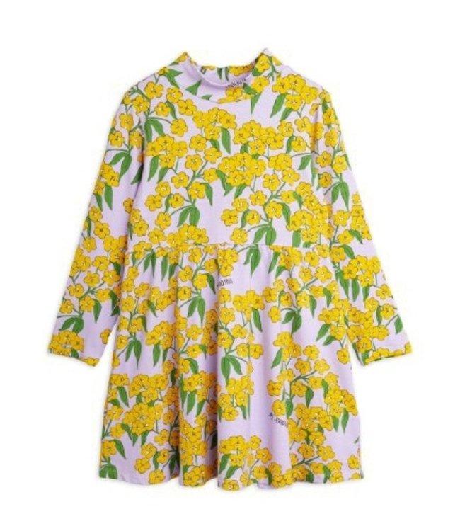 Mini Rodini Alpine flower high neck dress