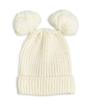 Mini Rodini Ear hat Offwhite