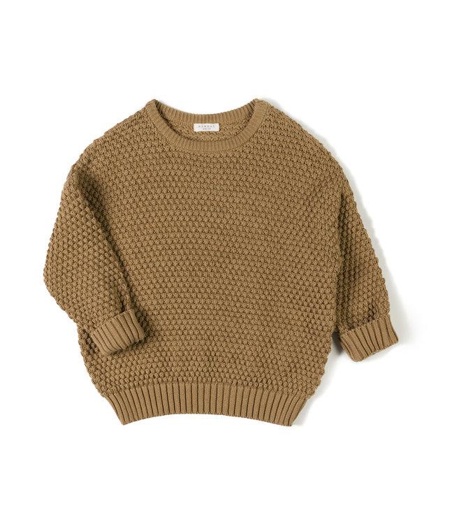 NixNut Tur knit sweater Toffee
