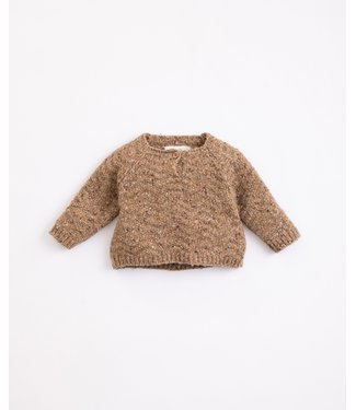 Play Up Play Up Tricot knitted sweater Paper