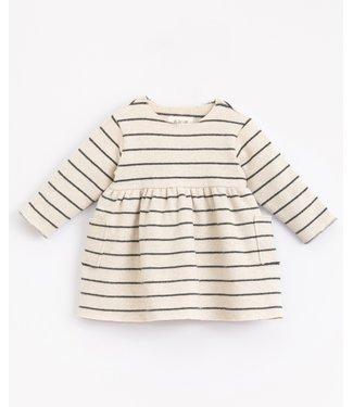 Play Up Play Up striped jersey dress Miró