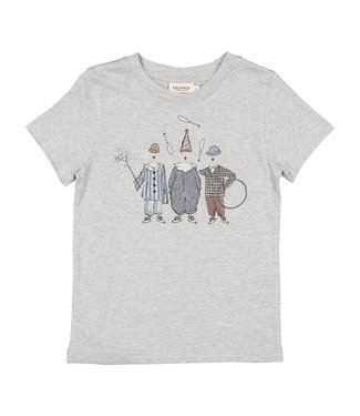 MarMar Copenhagen Ted shirt Grey melange