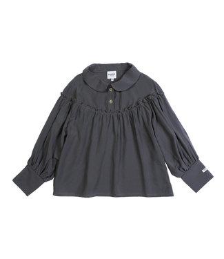 Donsje Fleur blouse Antracite