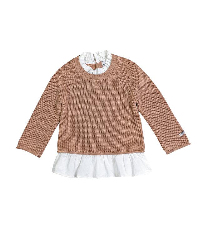 Donsje Flossy sweater Pink Clay