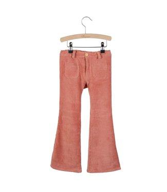 Little Hedonist Flared pants 4 pocket Bay Old Rose