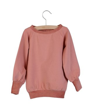 Little Hedonist Long cuffed sweater Celie Old rose