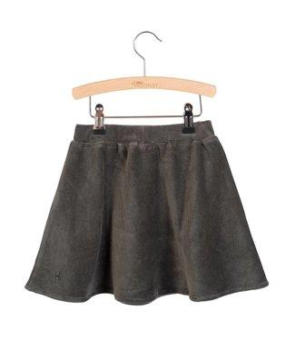 Little Hedonist Pleated skirt Mesa Pirate black rib