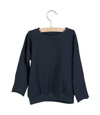 Little Hedonist Sweater Caecilia uni Blue graphite