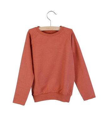 Little Hedonist Sweater Caecilia uni Marsala