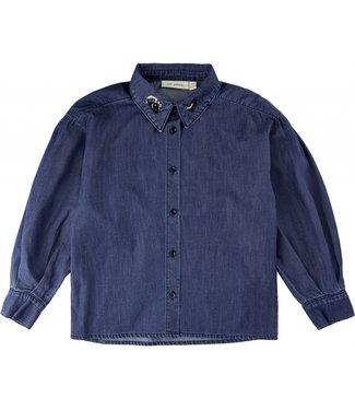 Soft Gallery Iona shirt Dark Denim