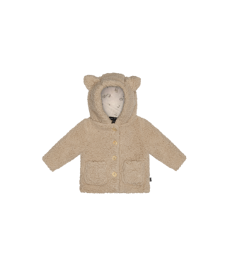 House of Jamie Teddie Hooded jacket Fox Oatmeal