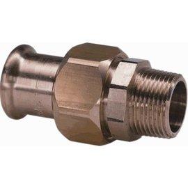 VSH VSH 3-delige koppeling, pers- buitendraad