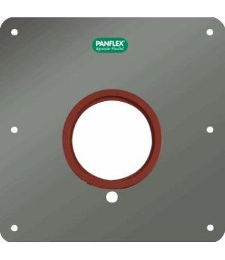Panflex RVS MUURPLAAT RGA+H43