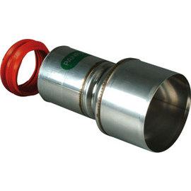 Panflex ADAPTER INOX RVS D80-80