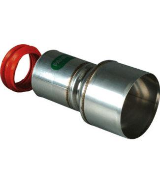 Panflex ADAPTER INOX RVS D50-80