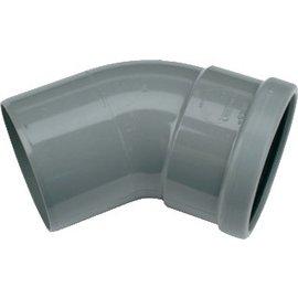 Wavin Wafix PVC 45 graden mof/spie
