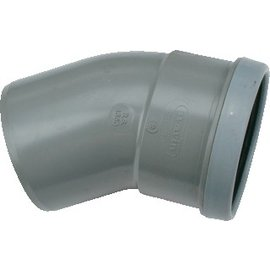 Wavin Wafix PVC 30 graden mof/spie