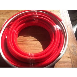 rest 10 m1 Uponor 16 mm. in mantel rood