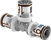 Uponor pers T-stuk