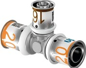 Uponor pers T-stuk verlopend