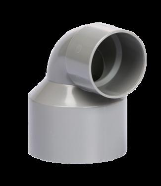 Pipelife PVC BOCHT 90 2XM 75X50 L