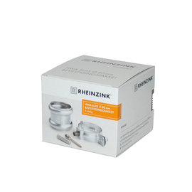 Wentzel Rheinzink WB HWA buis bevestigingspakket 80mm 2840009500