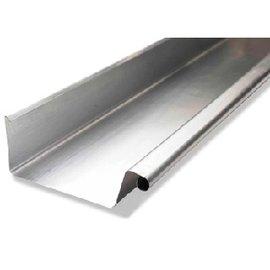 Wentzel zinken bakgoot B44 dikte=0.80mm lengte=3m, 0810000600