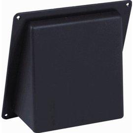 Nedco Kunststoffen NEDC SCHUINE KAP 125MM BRUIN