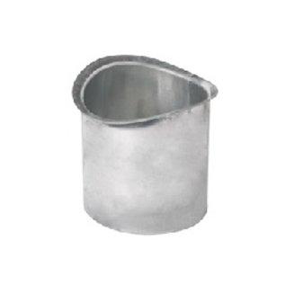 Born  zinkengoot tapeind voor bakgoot B80mm L=200mm 0214220081