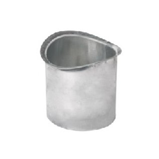 Born  zinkengoot tapeind voor bakgoot B70mm L=200mm 0214220071