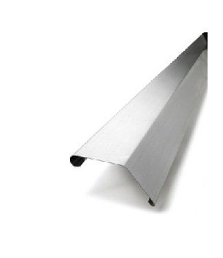 Wentzel WB Kliq standaard deklijst 45/70mm, dikte=0.80mm lengte=3m, prijs=per lengte 0910006000
