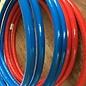 huismerk buis 26x3 mm. iso 6 blauw kiwa keur