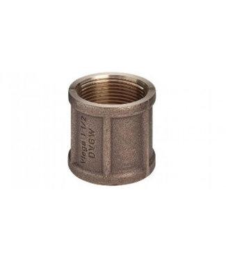Huismerk sok brons diverse maten  water/gas  2x binnendraad