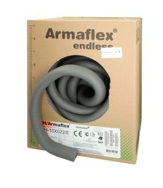 Armaflex Isolatie op rol voor max. 18 mm. buis, diverse lengtes, dikte 10 mm.