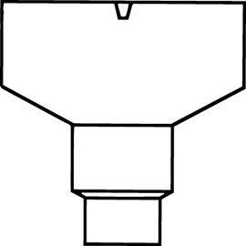 Pipelife PVC HWA VERG.BAK M/TUIT 80-100