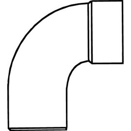 Pipelife PVC HWA BOCHT 90 MOF/SPIE  70