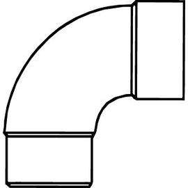 Pipelife PVC HWA BOCHT 90 MOF/VSE  70