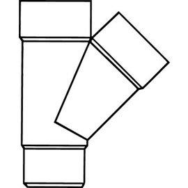 Pipelife PVC HWA T-STUK 45 2XMOF/VS 80G