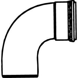 Pipelife PVC BOCHT 90 MOF/SPIE  160