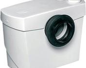 Toilet/ Sanibroyeur, Jung vuilwaterpomp