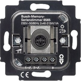 Abb B-J seriedimmer 2x315W tiptoets