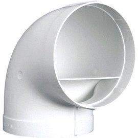 Nedco Kunststoffen NEDC BOCHT 150MM 90GR 6390 WIT