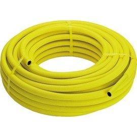 Viega Viega Pexfit Fosta G-buis voor gasinstallatie met mantel 16x2.0mm rol=50m, prijs=per meter geel 583064
