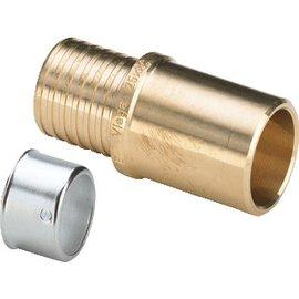Viega Viega Pexfit inschuifsok 50x42mm knel/soldeer 588458