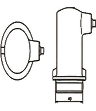 Spirotech SPIR KAP (KAPMAAT=1.3/4 H75MM)