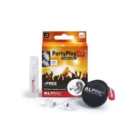 Alpine PartyPlug Pro Natural | Oordopjes voor het uitgaan